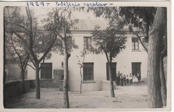 Edificio escolar, 1929