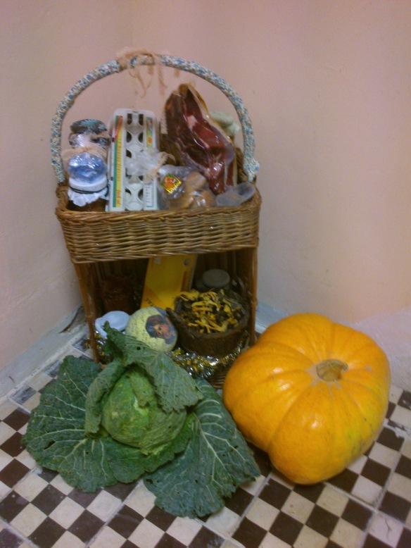 Y la cesta fragolina fue para... ¡Carmen y Luis!
