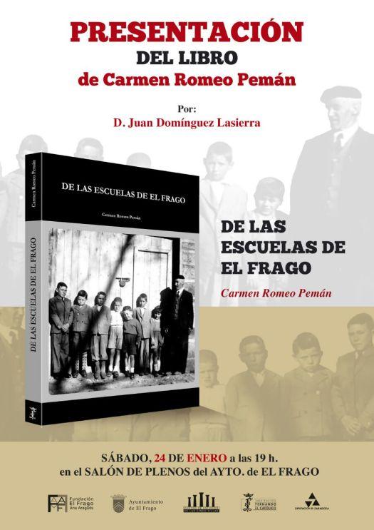 2015_01_15 Cartel presentación libro De las escuelas de El Frago